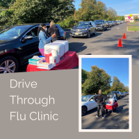 drive thru flu vaccine clinic